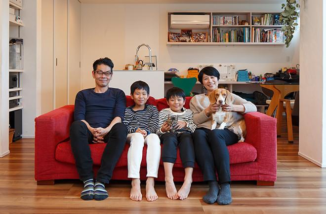 何度も「ドラマ」がありましたが<br>家族といっしょに住まいづくりを楽しめました。