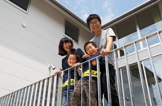 家族みんなで長く過ごせる家を目指して出来上がったのが「大きな空間」のある住まい。