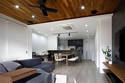 天井で空間をデザインする家 桑名市Y様邸